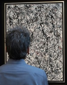 Jackson Pollock's 'Number 19.'