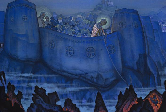Madonna Liberis by Roerich
