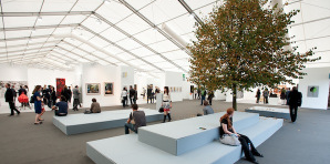 Frieze Art Fair in Regents Park