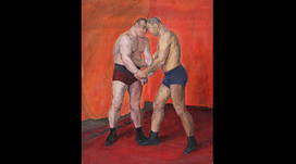 Olga Vaulina's 'Wrestlers' of 1930