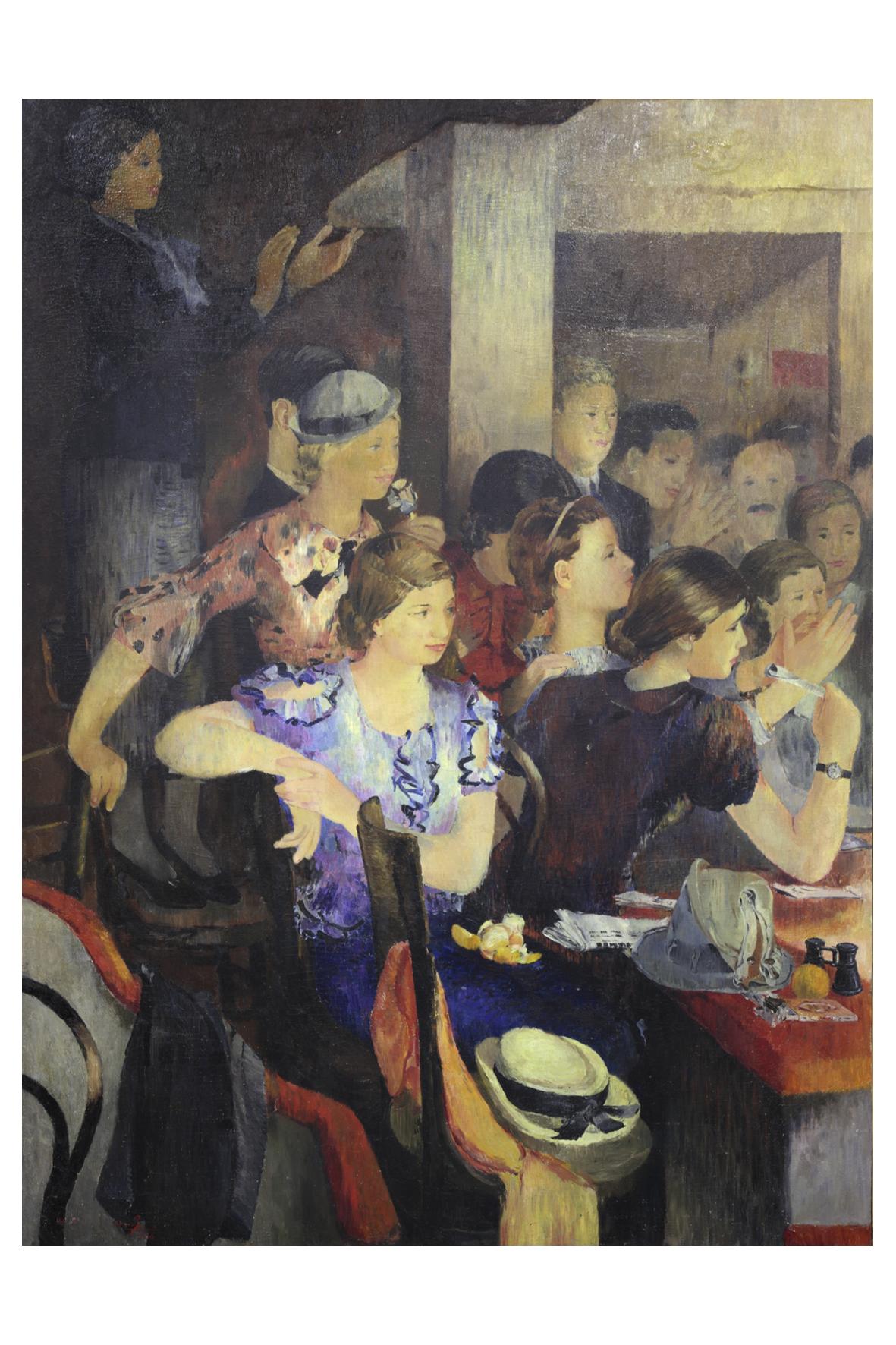 Yuri Pimenov, 'In a Theatre,' 218 x 167cm.