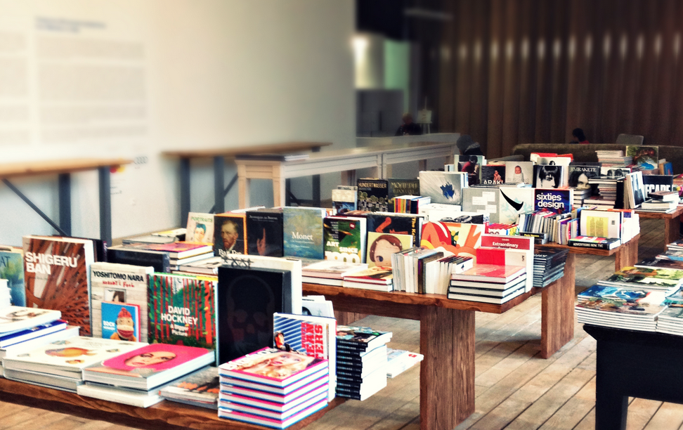 The Bookshop at the Garage Museum of Contemporary Art, Moscow.