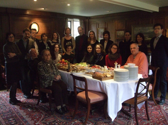 CCRAC members and delegates from Lomonosov State University at Pembroke College, Cambridge.