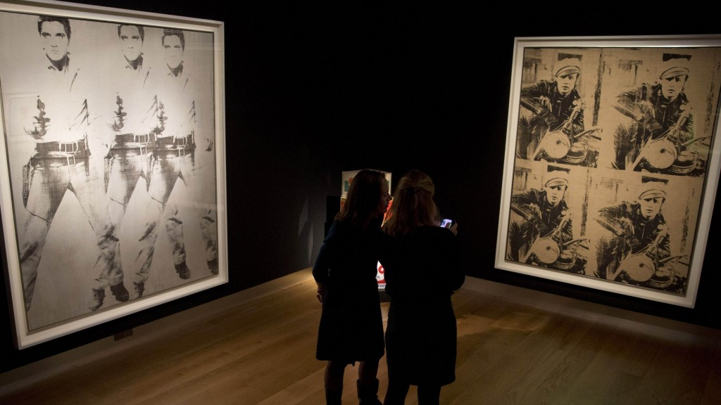 Both these Warhol's exceeded their estimates at last week's sales