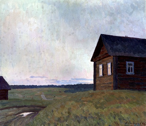 Valentin Sidorov, Silence, 1971, oil on canvas, Russian Museum.