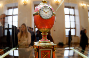 In 2007 Alexander Ivanov paid 9m pounds for a 1902 Faberge Egg at Christie's that had been made as an engagement gift for Baron Eduard de Rothschild.