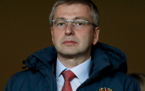 Dmitri Rybolovlev at a Monaco AS football match.