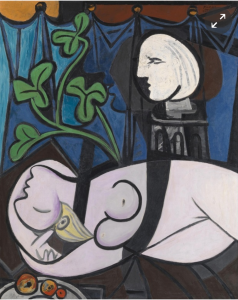 Picasso's Nude Green Leaves and Bust sold for pounds 66m in 2010