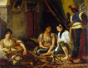Delacroix's Women in an appartment of 1834