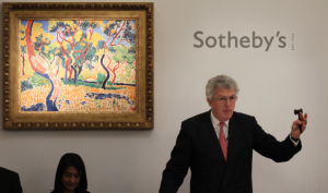Henry Wyndham brings down the hammer at Sotheby's
