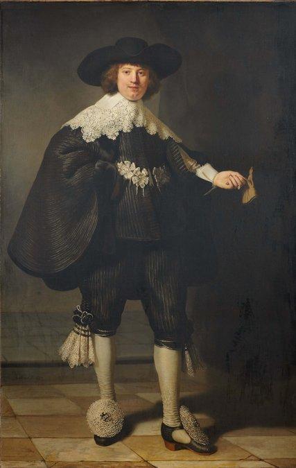 Rembrandt's Portrait of Marten Soolmans, 1634