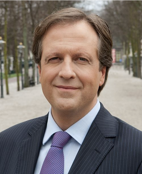 Alexander Pechtold, leader of the Democrats 66 party.