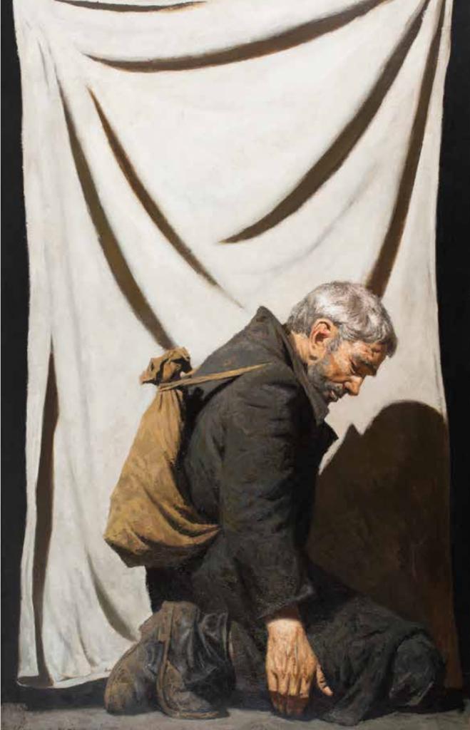 Geli Korzhev, Deserter, 1990.