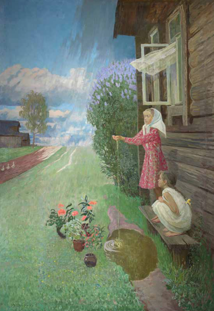 Valentin Sidorov, May Rain, 1960.