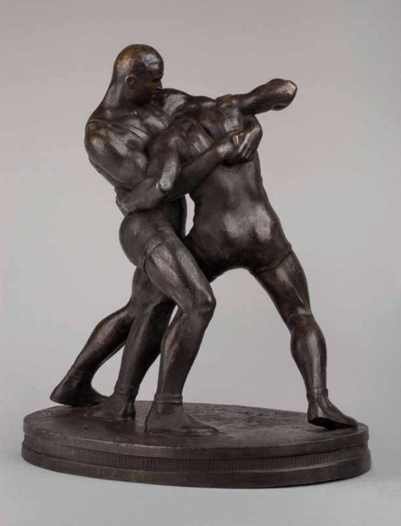 Matvej Manizer, Wrestlers, bronze, 1930's.