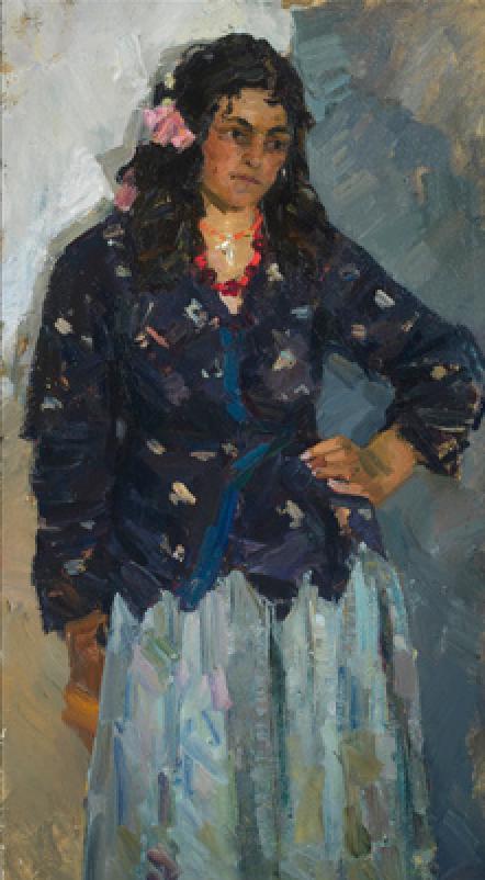 Vladimir Gavrilov's Gypsy Girl, 1959.