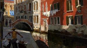 Vladimir Stozharov, Venice, 1959.