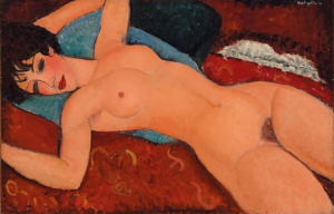 Modigliani's 'Reclining Nude' sold for US$170m at Christie's.