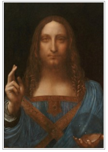 """Salvator Mundi,"" a depiction of Christ, supposedly by Leonardo, sold through Sotheby's to Bouvier in 2013 for US$80m who then sold it it a few days later to a Russian billionaire for a US$47.5m profit, according to Court Papers."