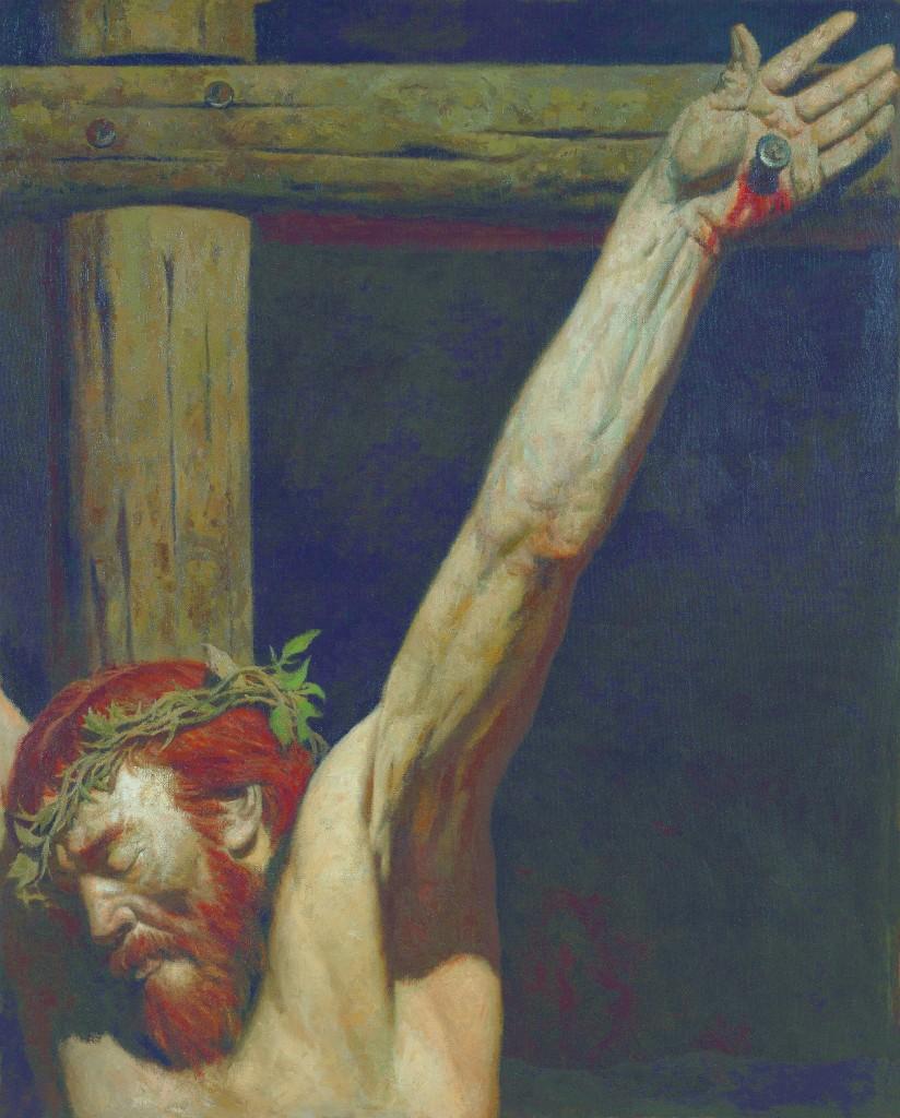 Korzhev's 'On the Cross.'