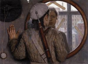 Korzhev's 'Miner Girl.'