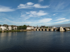 Maastricht and the River Meuse