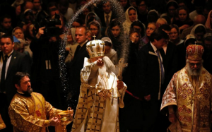 Patriarch Kirill's consecration of the Russian Orthodox Cathedral in London was attended by over a 1000 people.