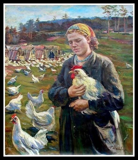 The Collective Farm Girl