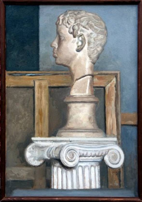 Still Life with Antique Head