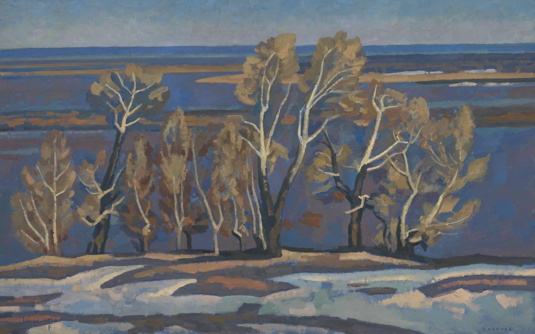 Autumn trees near Ryazan