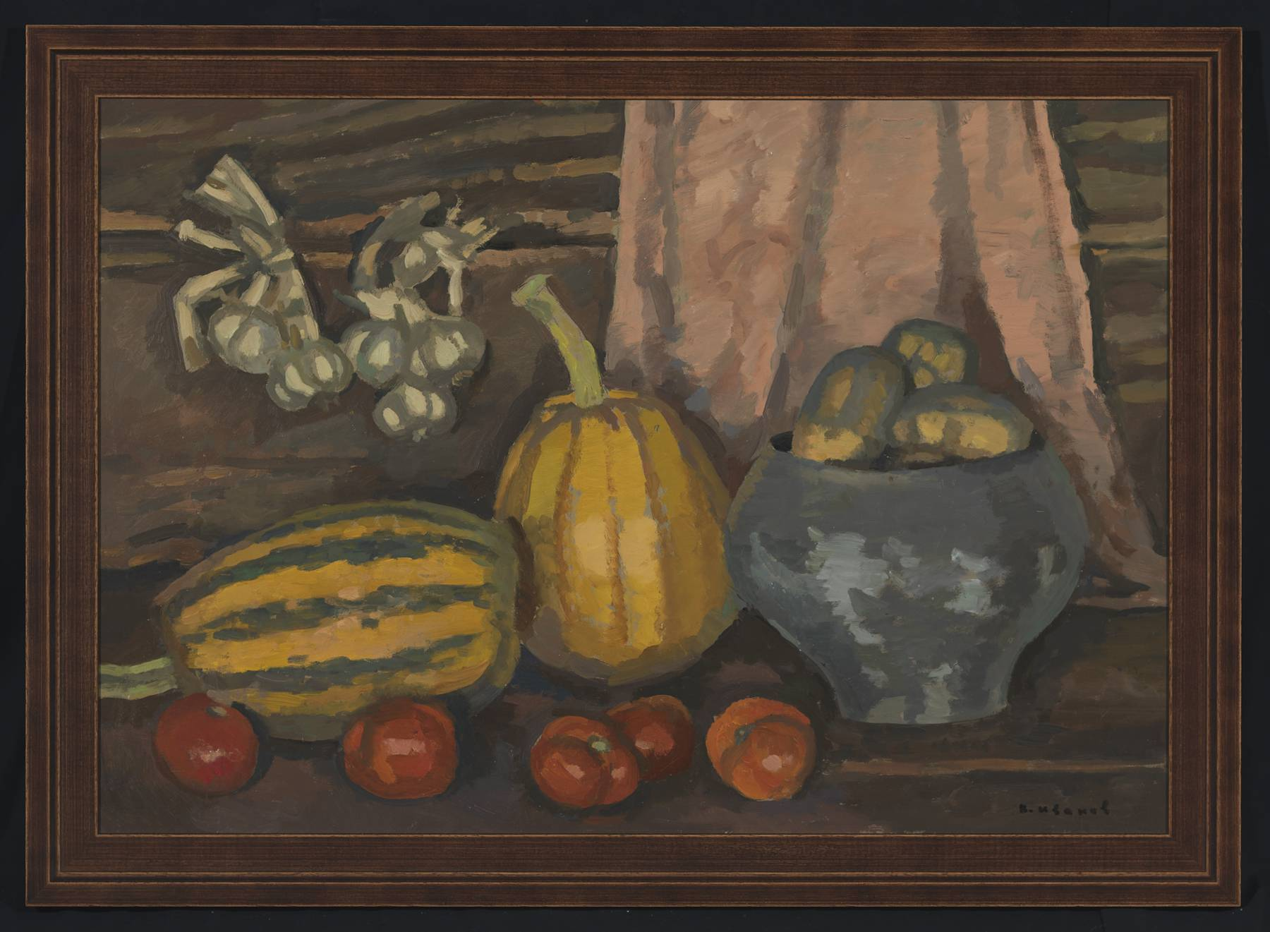 Still Life with Mellon and Tomatoes