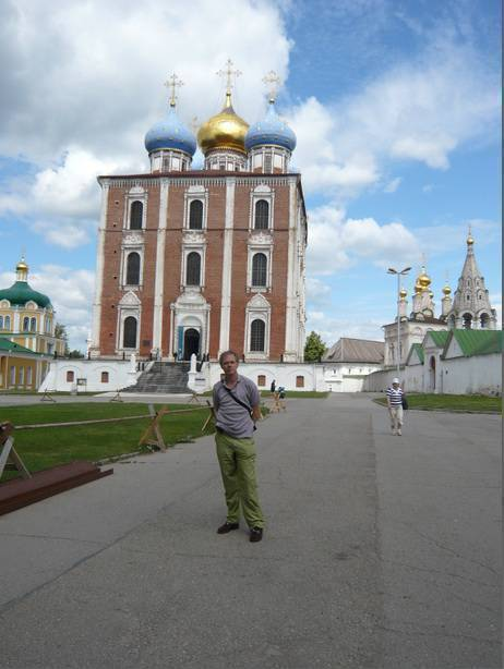 15th century Cathedral in the Ryazan Kremlin