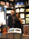Ivan Lindsay and Rena Lavery at Hatchards at the book launch for The Art of Soviet Russia