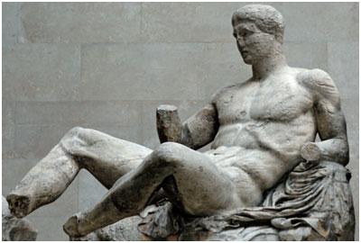 Reclining Dionysos