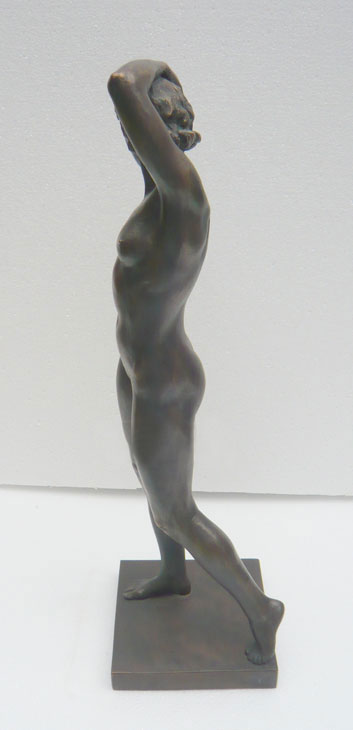 Woman Athlete, 1947, bronze by Matvei Manizer
