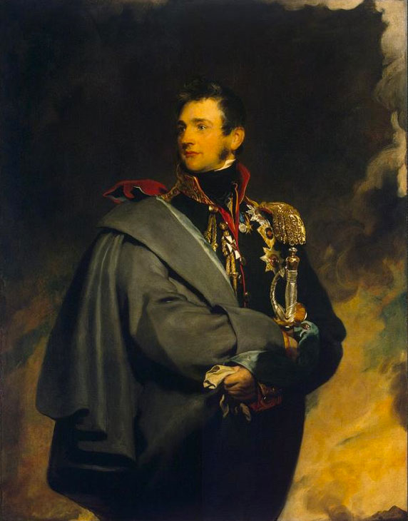 Prince Mikhail Vorontsov, 1818, by Sir Thomas Lawrence