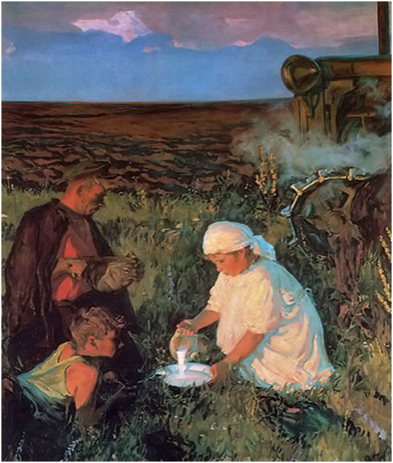Tractor-Driver's-Supper